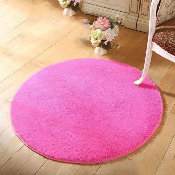 Harga Anti-slip Living Room Round Floor Mat Rug - intl