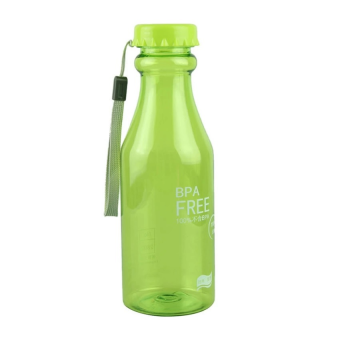 Harga Rafa Botol Minum BPA Free Botol Unik Soft Soda Drink Outdoor Sport Bottle 550ML - Hijau