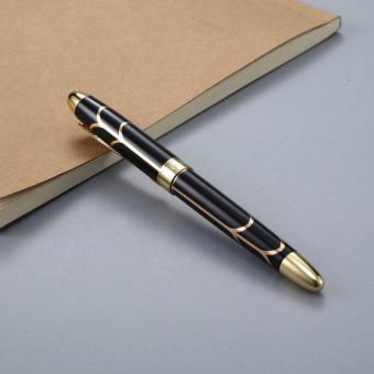 Unik fantastis kualitas tinggi Iraurita pulpen penuh logam keemasan klip pena alat tulis kantor perlengkapan sekolah