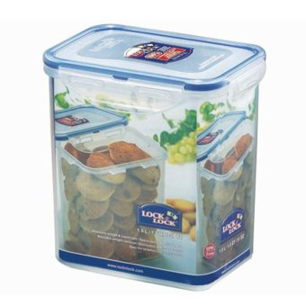 Harga Lock&Lock Food Container Hpl812H - Rectangular Tall Food Container 1.5L