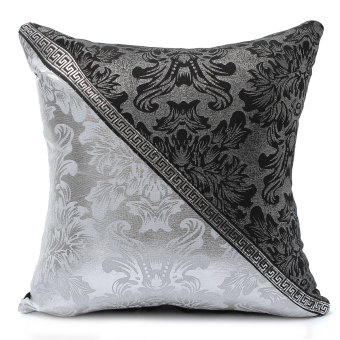 Black and White Porcelain Pattern Home Decor Sofa Throw Pillow Case Cover Style4 - 5