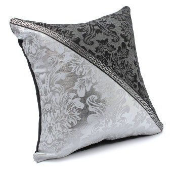 Black and White Porcelain Pattern Home Decor Sofa Throw Pillow Case Cover Style4 - 3