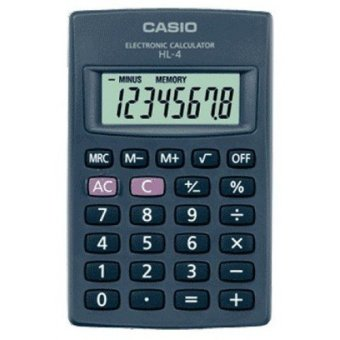 Harga Casio HL 4 - Pocket Kalkulator