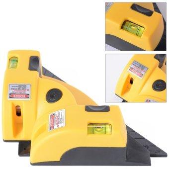 Vertikal horizontal garis laser proyeksi tingkat persegi sudut siku 90 derajat BI010 -