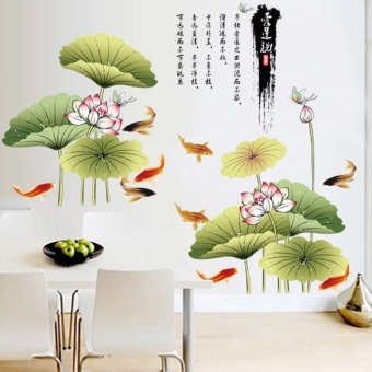 Hot Style Popular Three Generations of Wall Stickers Wholesale Cartoon Wall Stickers Wang - intl