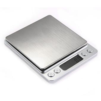 WiseBuy 500 G/0.01 G Digital laboratorium medis keseimbangan berat timbang beratnya Skala Rumah Dapur ...