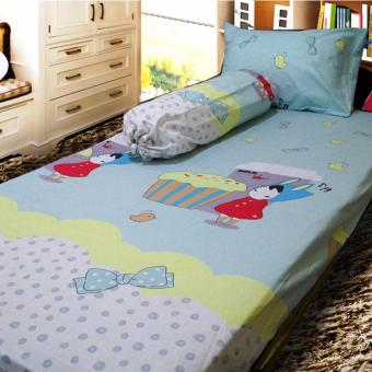 Harga Berlian's Sprei Single -AG012- 100x200x20