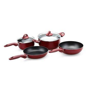 Supra Rosemary Cookware - Set Perlengkapan Masak - 7 Items Mix Color