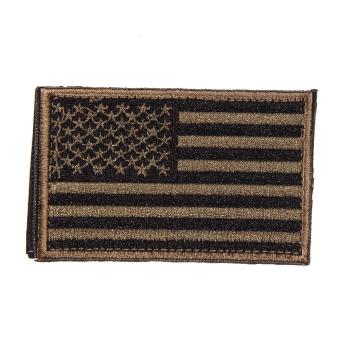 Bendera Amerika Serikat Patch Bordir Hijau Tentara ...
