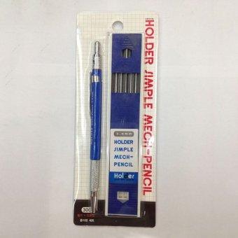 Cocotina 2B 2.0 mm pemegang timah mekanis otomatis Draughing draft tulisan pena - 2 ...