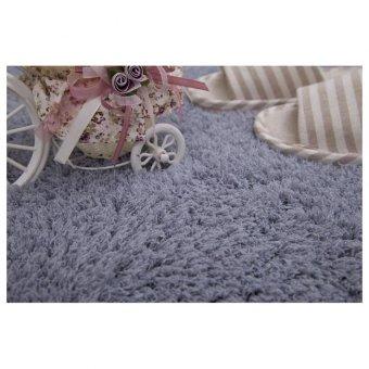 Galeri Gambar Shaggy Anti-skid Carpets Rugs Floor Mat/Cover 80x120cm(Grey)