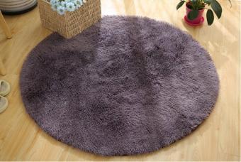 ... Membeli 1 Mendapatkan Freebie Source · Harga Halus anti. Source · Gemerincing Bulat Berbulu Lembut Karpet Kamar Tidur Tikar Karpet Lantai 40 cm Kelabu .