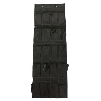 20 kantong di atas pintu penyelenggara Rak Sepatu gantung gantungan penghemat ruang penyimpanan - 2 ...