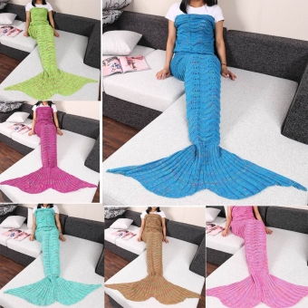 GETEK Mermaid Tail Knitted Wave Blanket 95 x 210cm 6 intl . Source · Creyo's Anting Magnet Silver size 1cm (Tanpa Tindik). Source · GETEK Mermaid Tail