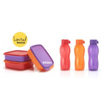 Harga Tupperware Glittery Eco-Lolly 3 set/6pcs