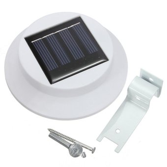 Detail Gambar Solar Lighting System LED Fence Light Outdoor Garden - Lampu Pagar Tenaga Surya Terbaru