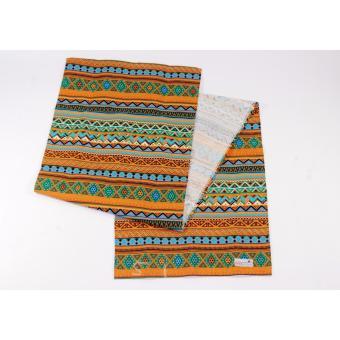 Tren-D-home - Taplak Meja / Table Runner Bludru 33 cm x 150 cmFlower - Merah. Table Runner / Taplak Meja - Tribal [Cokelat]