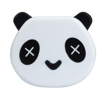 Harga Coconiey Cartoon Panda Candy Color Contact Lens Box Case For Eyes Care Kit White - intl