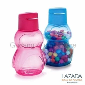 Harga Tupperware Eco Bottle Kids 2 - Biru Pink