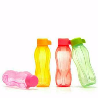 Harga Tupperware Eco Bottle 310ml - 4pcs - Multicolor