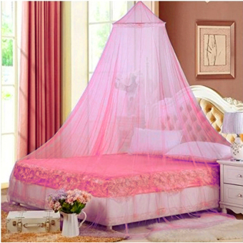 Harga Retail Station Mosquito Net - Kelambu Anti Nyamuk - Hot Pink