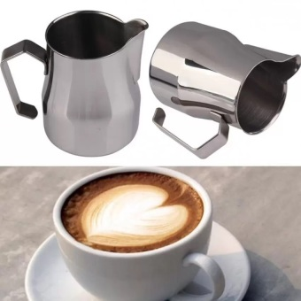 ... Stainless Steel Coffee Shop Milk Espresso Latte Art Frothing Jug 500CC