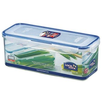 Harga Lock&Lock Food Container Hpl846- Rectangular Tall 3.4L(Tray)