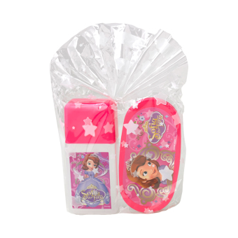 Harga Disney Junior Sofia The First Lunch Box Set Pink