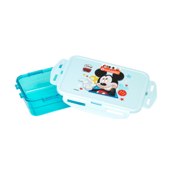 Harga Disney Mickey Mouse Lunch Box 750Ml Biru
