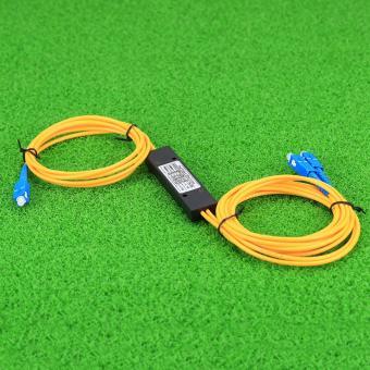 CRUISER Fiber Branching Device 1x2 Box Cassette Card Inserting PLC splitter Module SC .