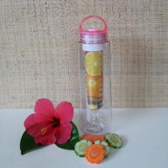 Harga Botol Minuman Infused Water Infused Botlle BPA Free Botol Tritan 1 Pink