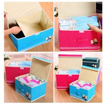 Nadaga Box Duduk / Kotak Penyimpanan / Box Mainan / Tempat Penyimpanan Barang AJ8. Source. Source · BEST Tempat Penyimpanan 2in1 Set BUTTERFLY Storage Box ...