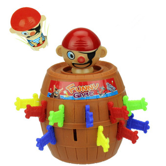 4ever Kids Christmas Gift Lucky Stab Pop Up Toy Gadget Pirate Barrel Game Toy