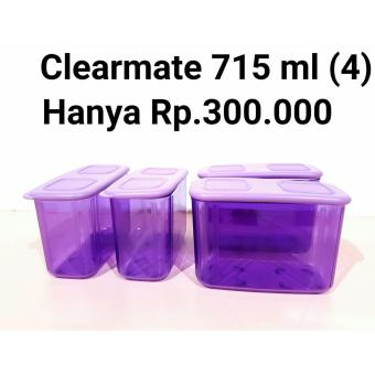 Harga Tupperware Clearmate - 715ml - Purple