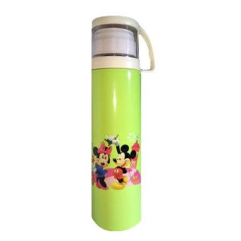 Harga Vacuum Flask Double Stainless Stell / Termos Kharakter Mickey Mouse 500 Ml