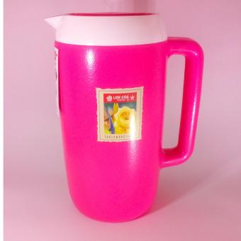 Harga Lion Star Thermos Eskan Hot & Cold 1,7 Liter - Pink