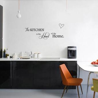 Cinta Mengutip Wall Sticker Vinil PVC Seni Dekorasi Dapur Rumah Kata Stiker Dapat .