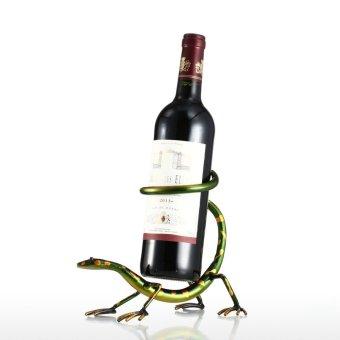 Tokek rak anggur Tooarts patung besi dekorasi rumah kerajinan patung praktis - Internasional ...