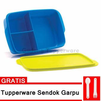 Harga Tupperware Cool Teen Lunch Box + Free Cutlery