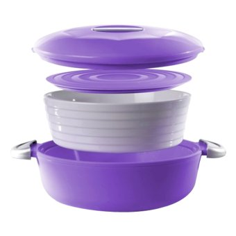 Harga Hakasima Thermopot Round Purple