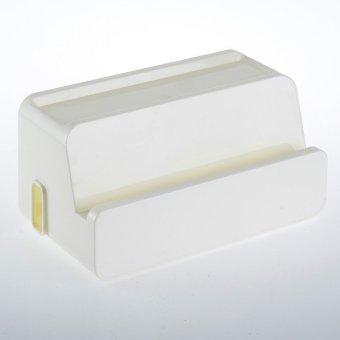 Harga Manajemen kabel listrik colokan listrik kotak penyimpanan tas Organizer putih