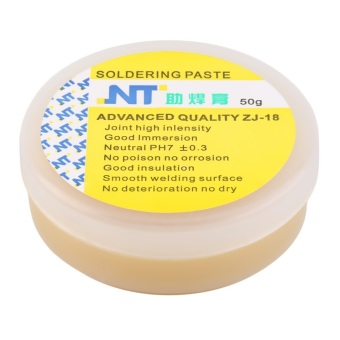 Harga OH 50g Rosin Soldering Flux Paste Solder Welding Grease Cream for Phone PCB Yellow