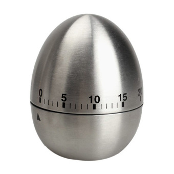 Model stainless steel alat memasak telur mekanis dapur memasak alarm jam pengatur waktu 60 menit timer