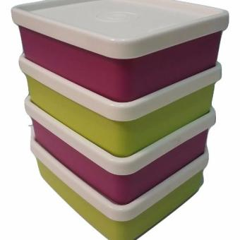 Harga Tupperware Mini square away set