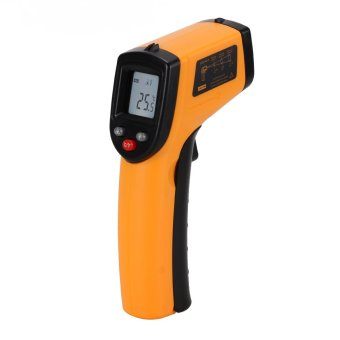 Harga WiseBuy GM320 Handheld Gun Thermometer Non Contact IR Laser Infrared Digital Temperature
