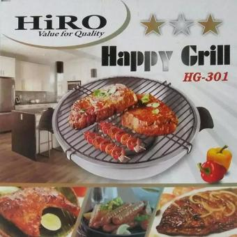 Harga HiRO Happy Grill Roaster model HG 301