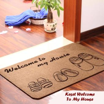 STARSTORE KESET WELCOME TO MY HOME CARPET RUG