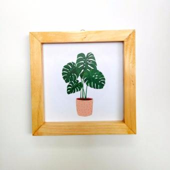 Harga Mini Poster - Monstera