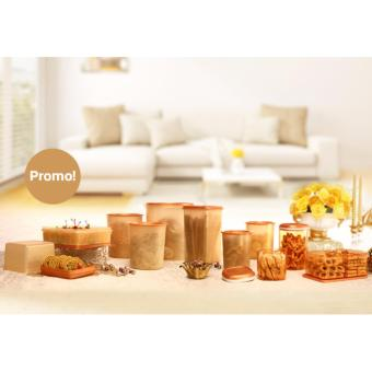 Harga Tupperware Golden Mega Set with Crystal Canister