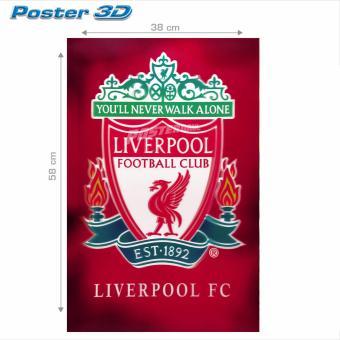 Poster 3D: Logo Liverpool FC #3D156 - 38 x 58 cm